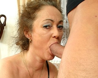 Omaseks Hairy mom getting fucked by the guy next door